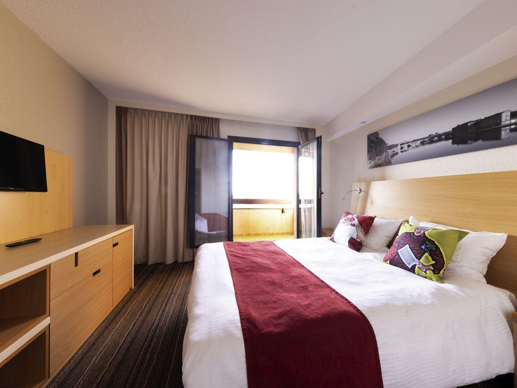 Appartement 1 chambre pour 4 personnes avec balcon