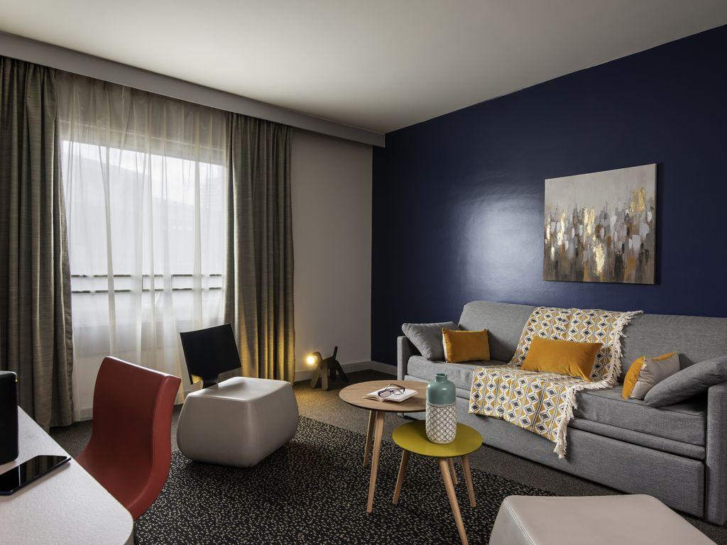 Großes Superior-Appartement mit 1 Schlafzimmer für 4 Personen