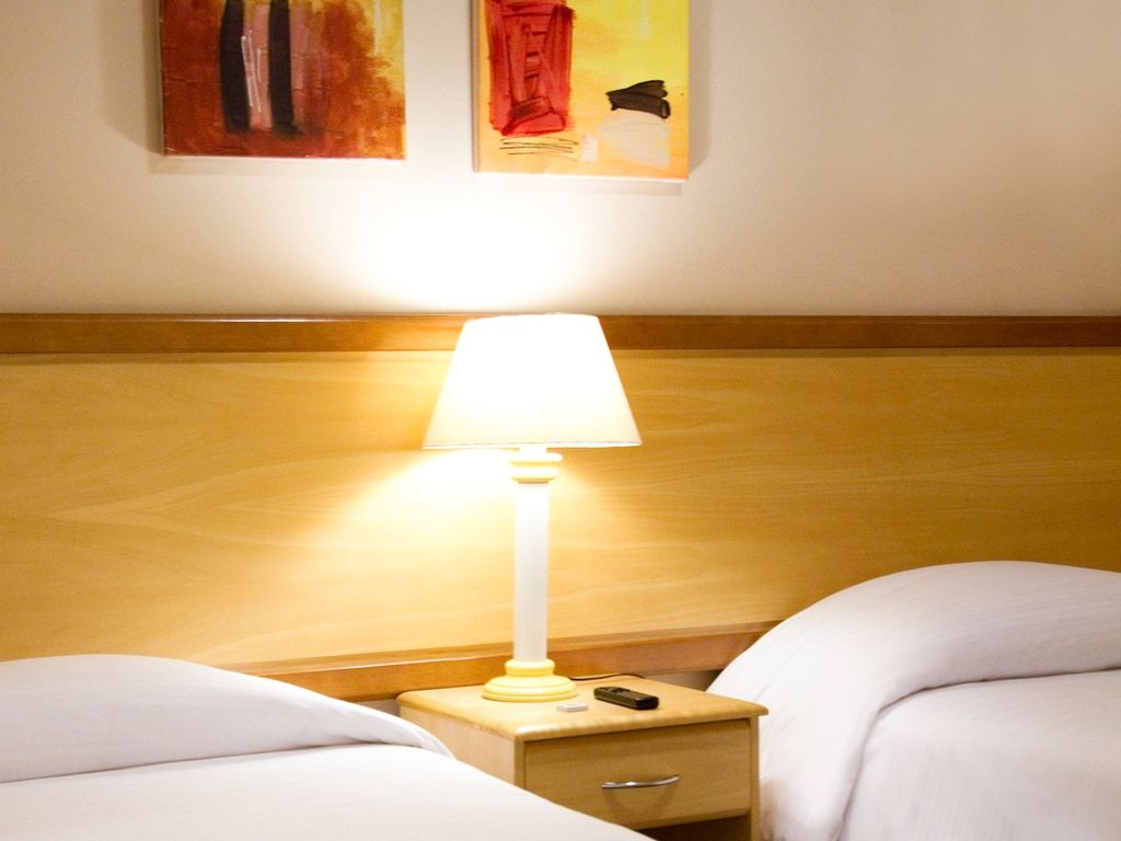Apto Standard com 1 cama de dupla e uma cama individual