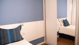 Apartamento standard premium com 1 cama de casal e uma cama de solteiro