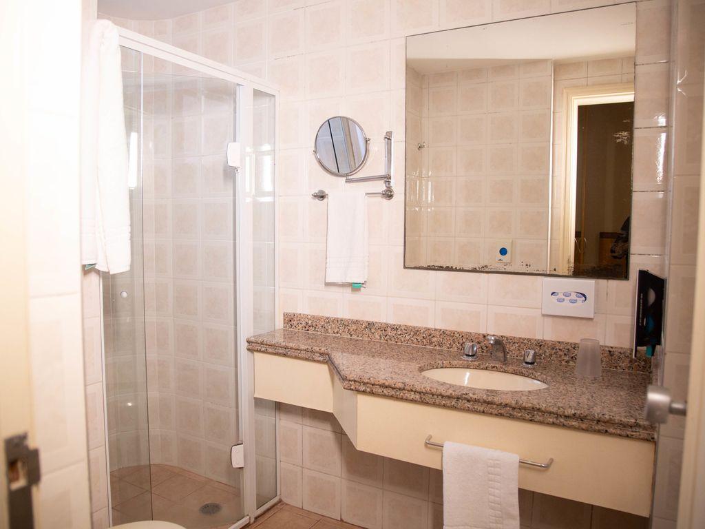 Apartamento superior com 2 camas de casal