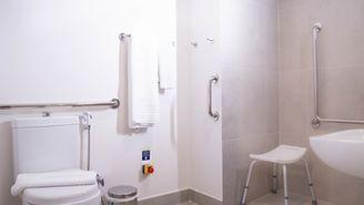 Apartamento adaptado para pessoas com mobilidade reduzida