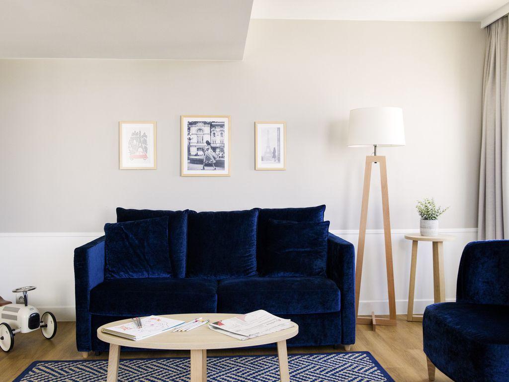 Großes Appartement mit einem Schlafzimmer für 4 Personen