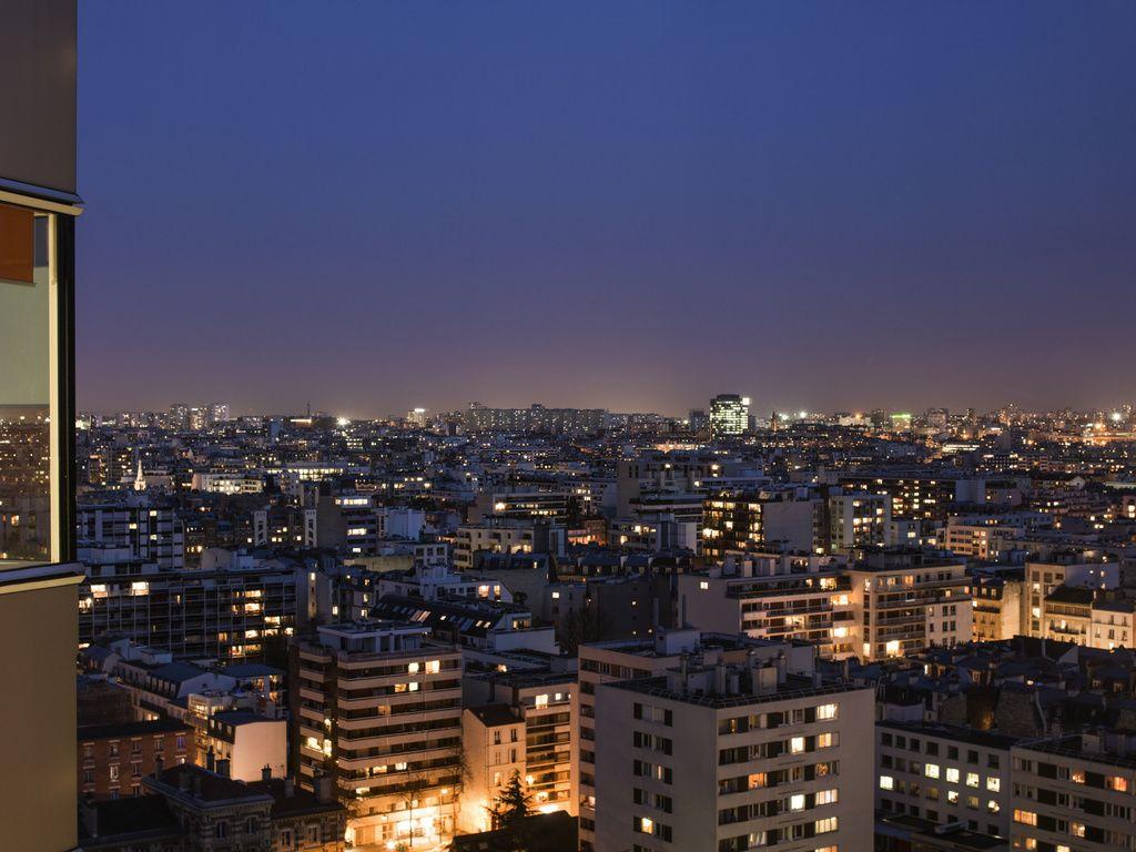 1-Zimmer-Apartment für 4 Personen - Panoramablick auf Paris