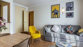 Appartement mit 2 Zimmern für 6 Personen