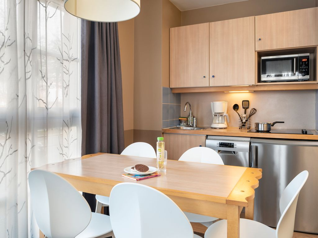 Appartement avec 1 chambre pour 5 personnes