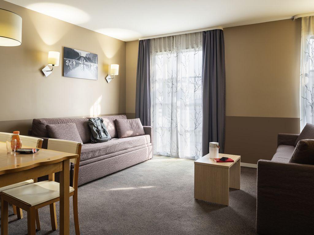 Appartement avec 1 chambre pour 6 personnes