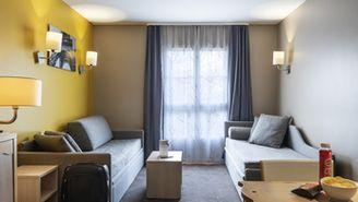 Apartamento com 2 quartos para 9 pessoas