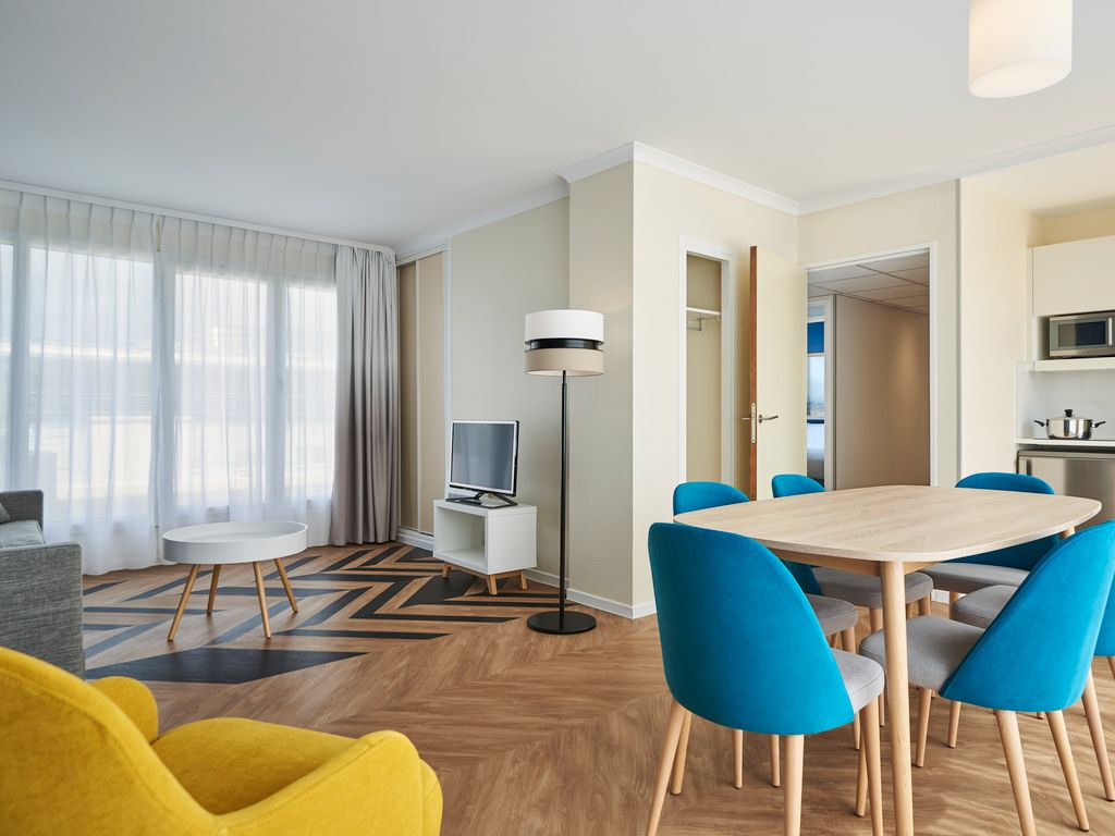 3-room apartment with terrace for 6 people