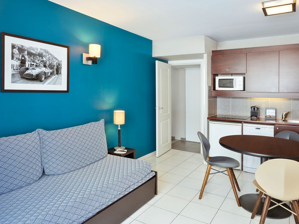 Apartamento con 1 dormitorio, para 5 personas
