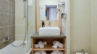 Appartement mit 2 Zimmern für 5 bis 6 Personen