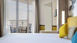 1-Zimmer-Apartment mit Balkon für 4 Personen