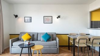 Appartement 1 chambres avec balcon pour 4 personnes