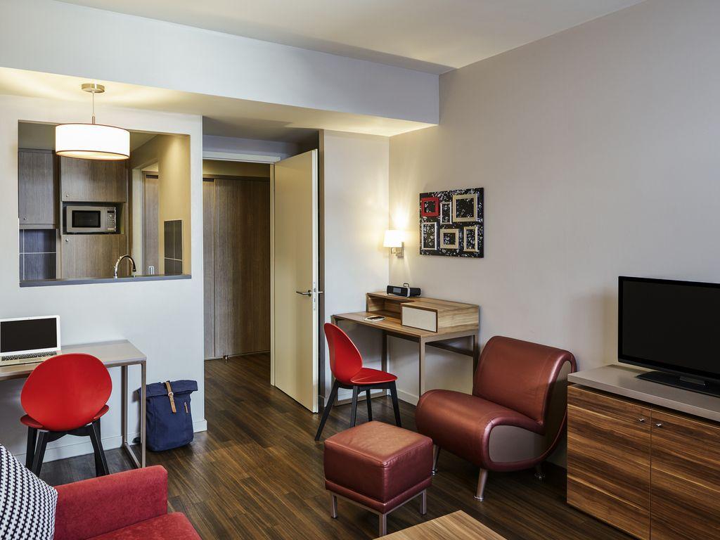 Großes Appartement mit 1 Schlafzimmer für 4 Personen