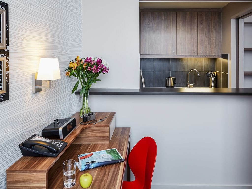 Studio mit Einzelbetten für 3 Personen