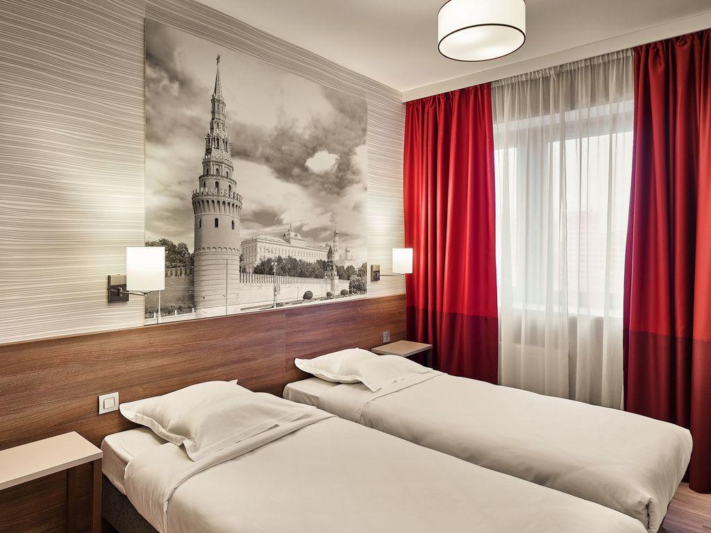 Apartment mit einem Schlafzimmer und Twin-Betten