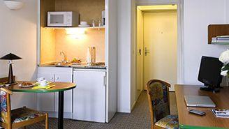 Habitación tipo estudio para dos personas