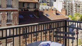 Studio mit Balkon für 2 Personen