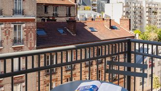 Studio with balcony for 2 people