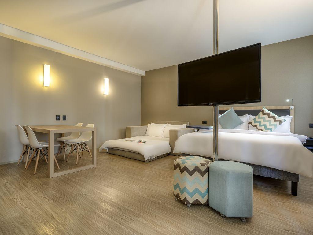 Executive-Suite - 1 Doppelbett und 1 Schlafsofa