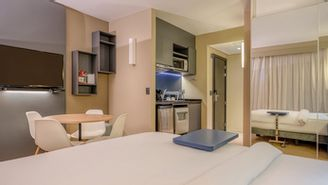 Standard Apartment with a double bed for up to 2 people