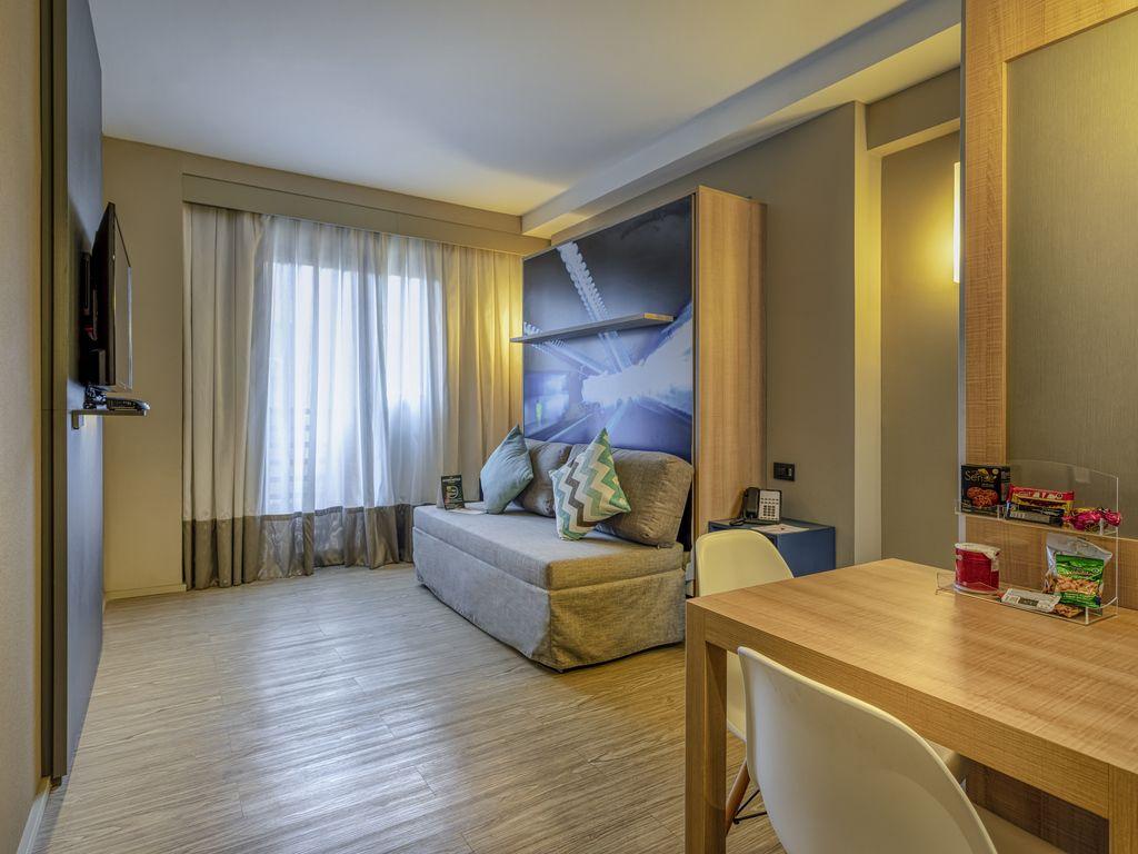 Standard-Apartment - 1 ausklappbares Doppelbett