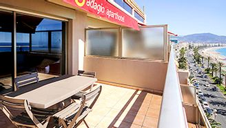 Apartment with 1 bedroom for 4 people, sea view