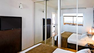 Apartamento de 1 dormitorio para 4 personas con vistas al mar
