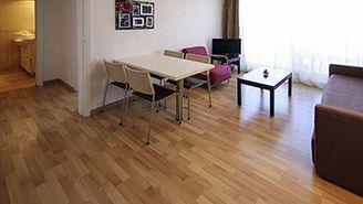 Apartamento de 1 dormitorio para 4 personas con vistas a la ciudad
