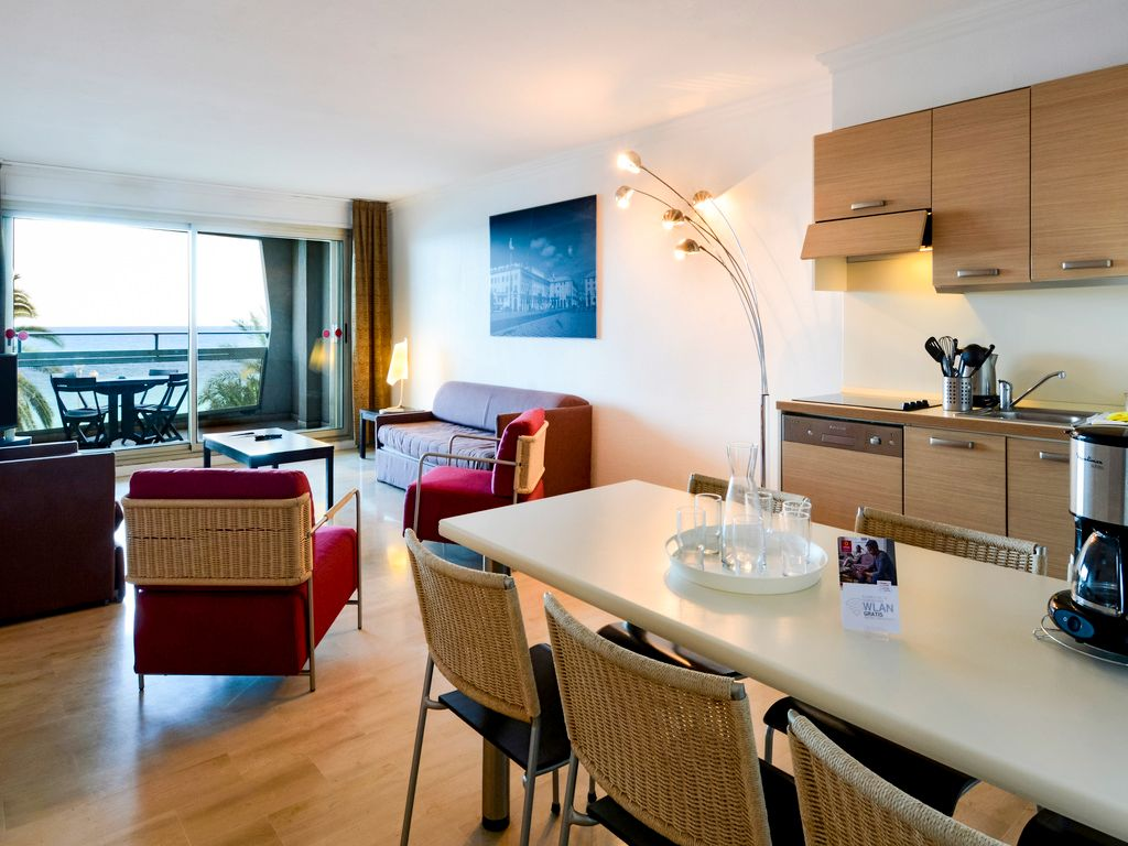 Apartment with 1 bedroom for 6 people, sea view