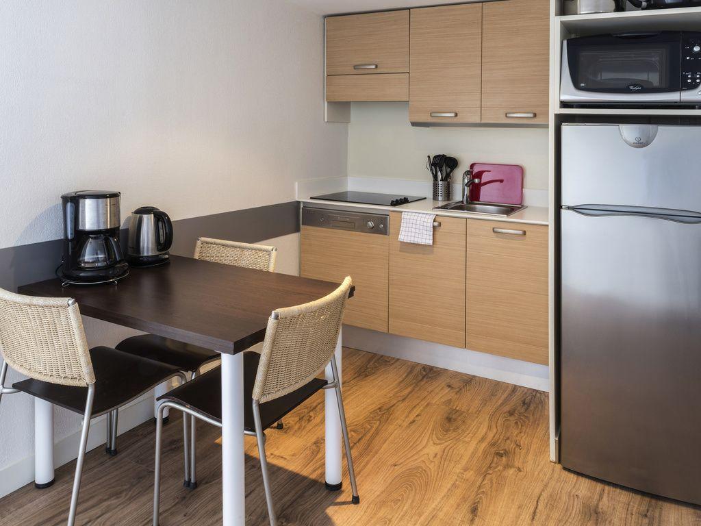 Habitación tipo estudio para 2 personas con vistas a la ciudad