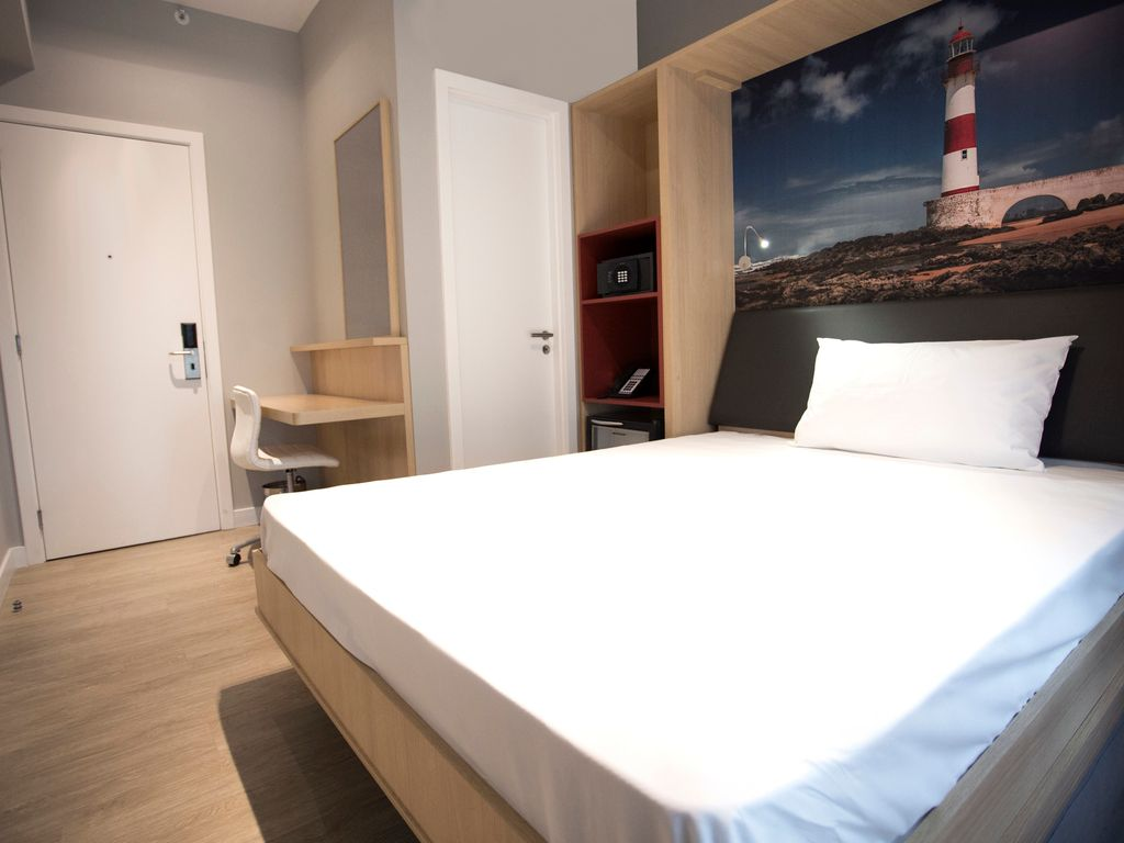 Studio for 2 people - foldaway bed