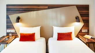 Studio pour 2 personnes avec lits jumeaux