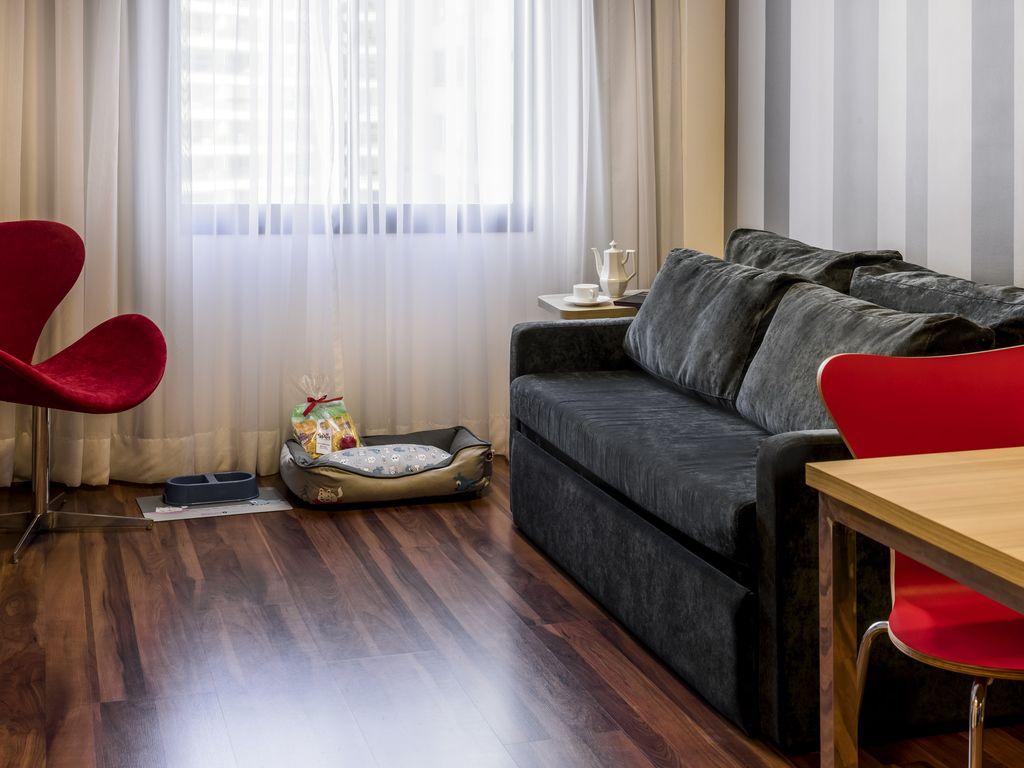 Appartement Supérieur, lit King size, cuisine équipée