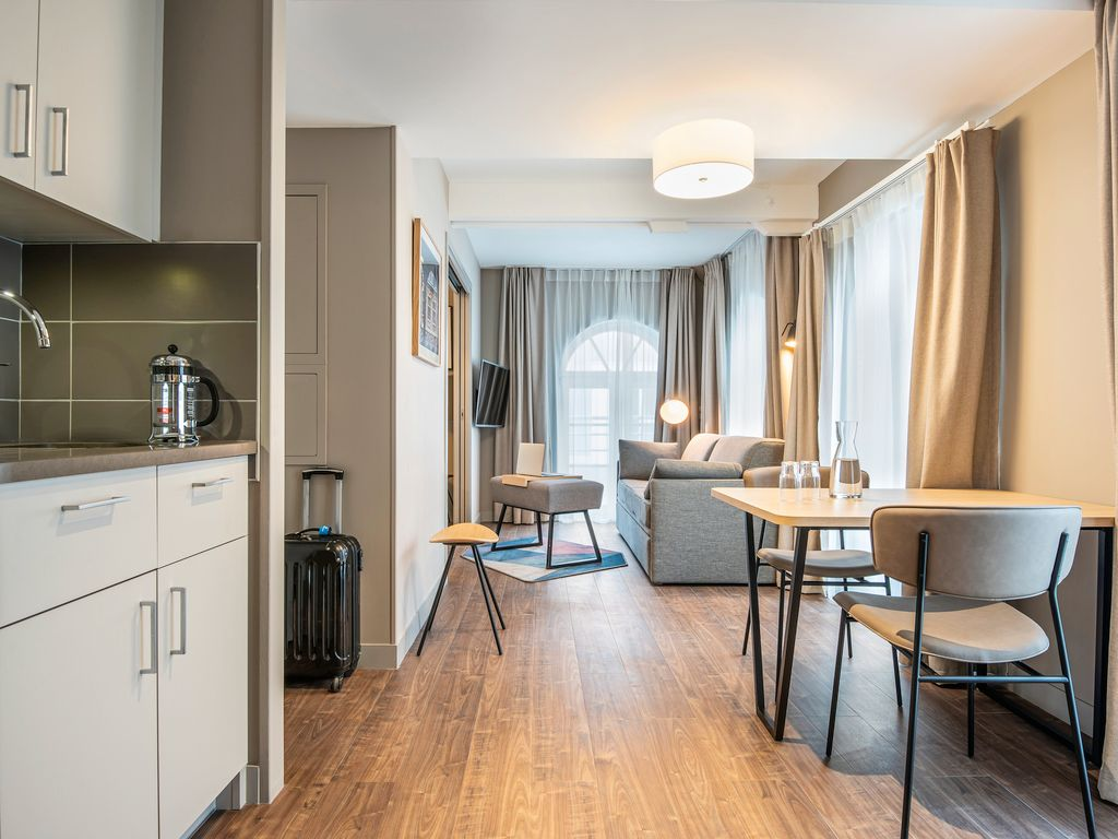 One bedroom apartment for four people