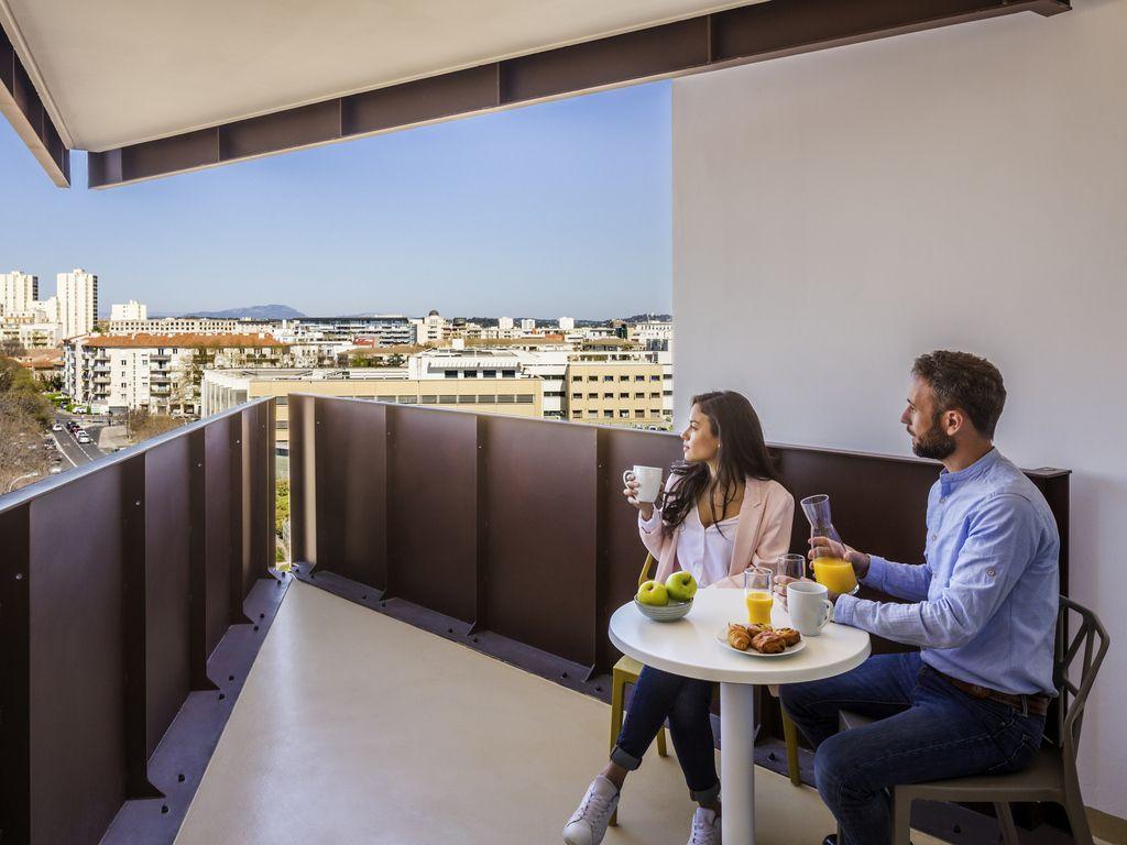 Studio avec balcon pour 4 personnes