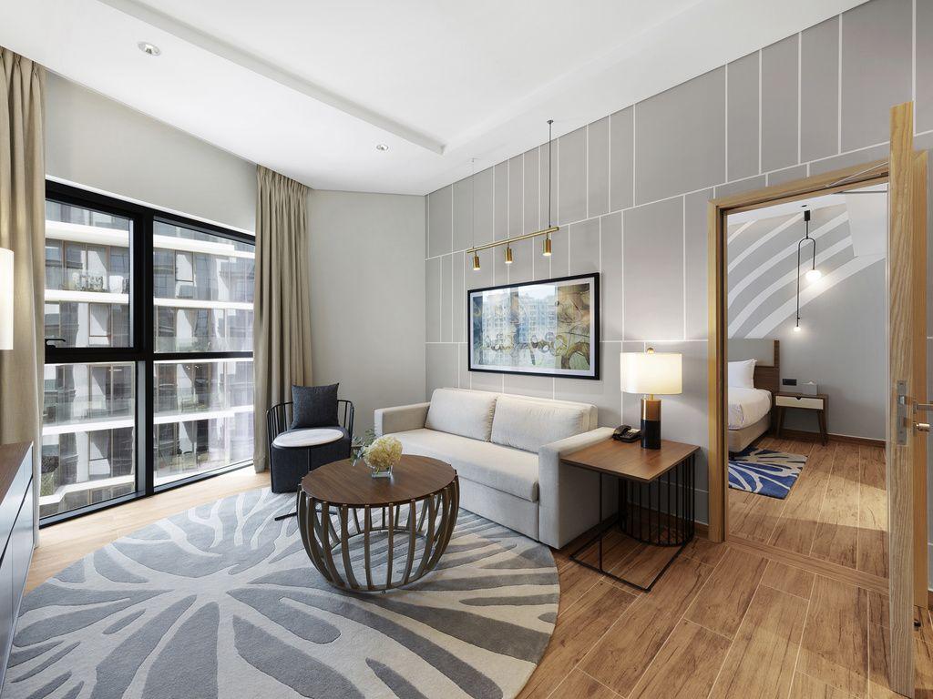 Appartement avec 1chambre et balcon