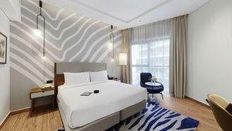 Studio-Apartment mit Kingsize-Bett