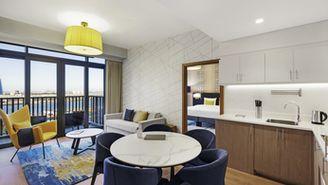 Apartment mit 1 Schlafzimmer für 2 Personen