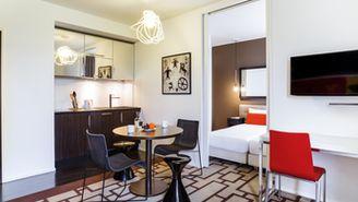 Apartamento para un total de 4 personas con balcón
