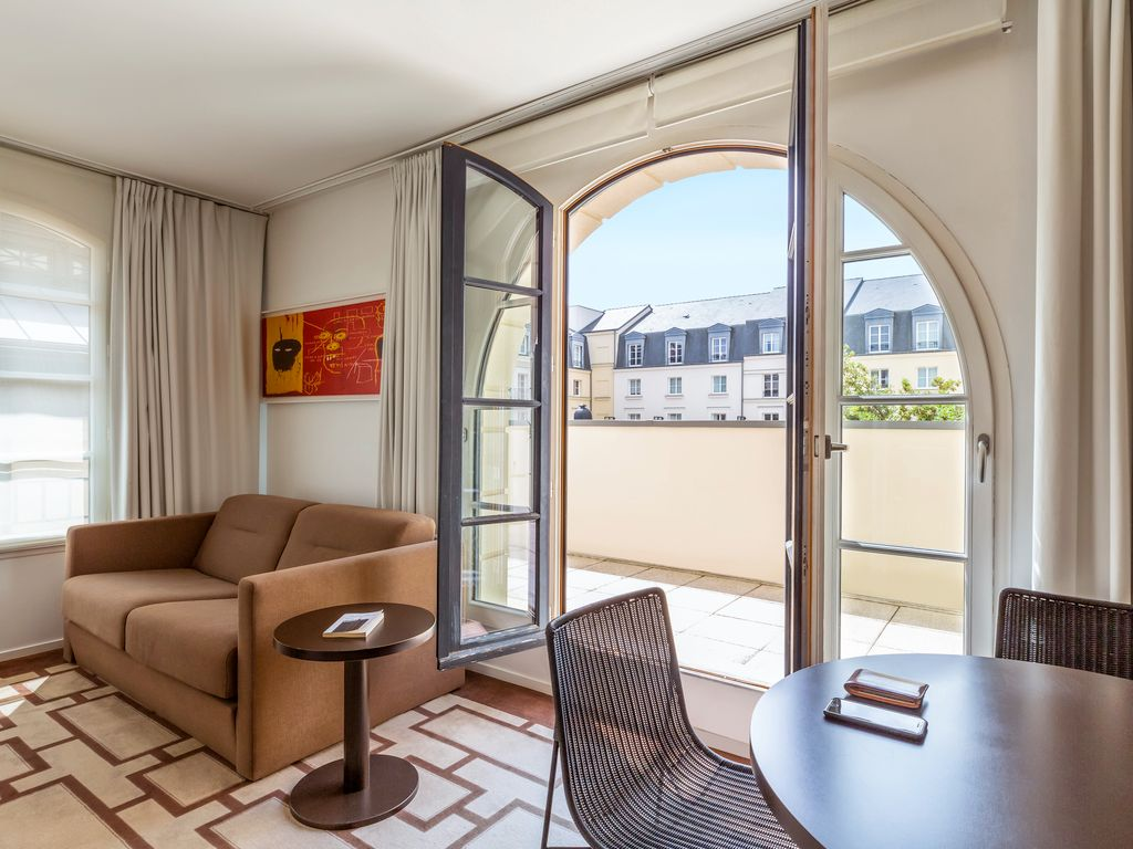 Appartement pour 4 personnes avec balcon