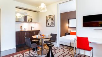 Appartement avec 1 chambre pour 4 personnes