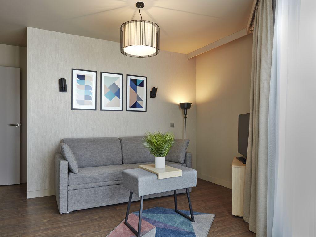 Appartement supérieur 1 chambre avec balcon pour 4 personnes
