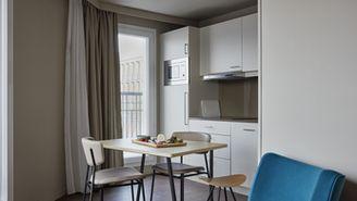 Apartamento de 1 quarto para 4 pessoas