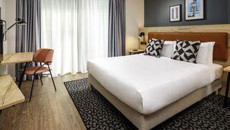 Studios avec lit double ou deux lits séparés pour 2 personnes