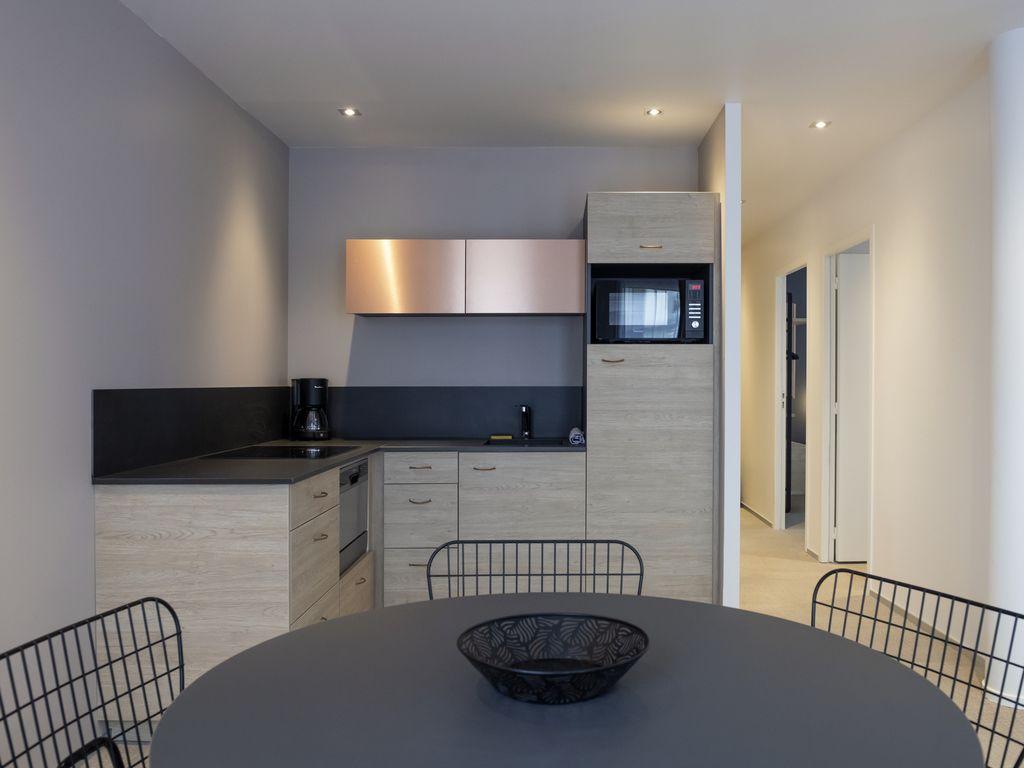 Apartamento de 3 dormitorio para 8 personas