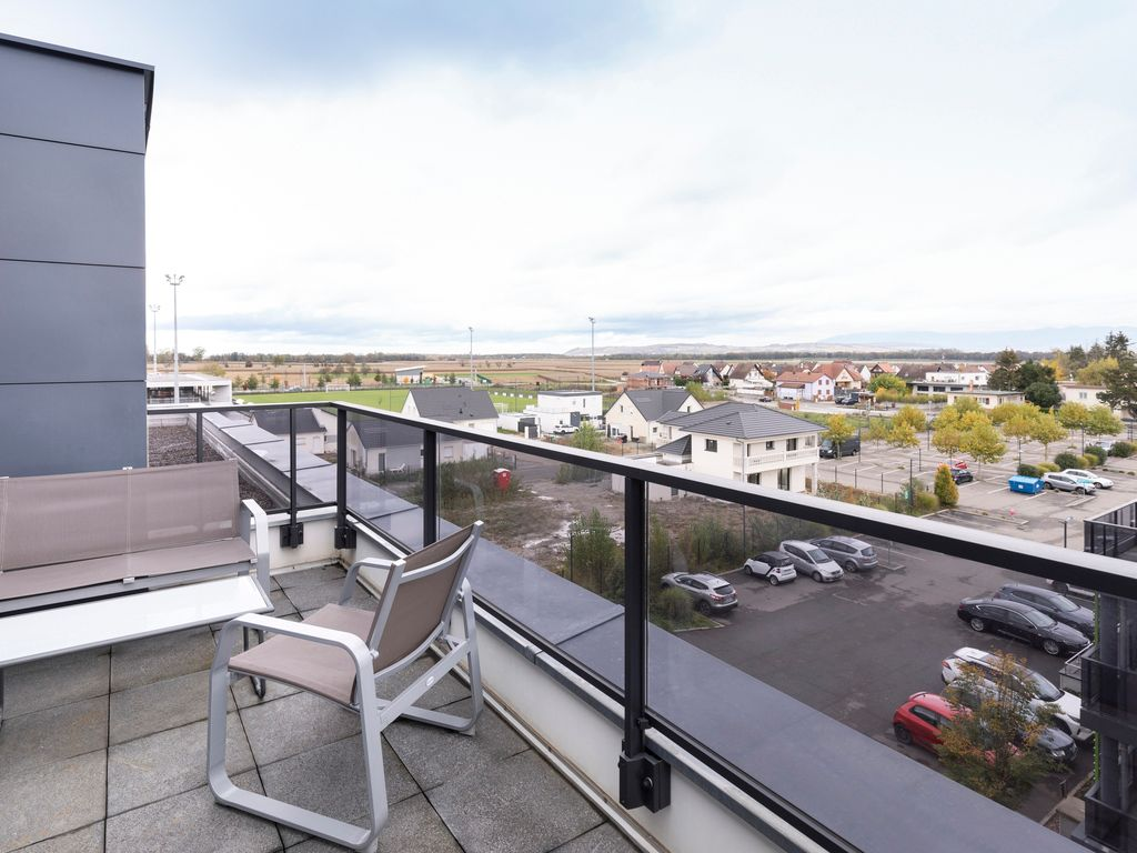 Appartement 1 chambre pour 4 personnes avec terrasse