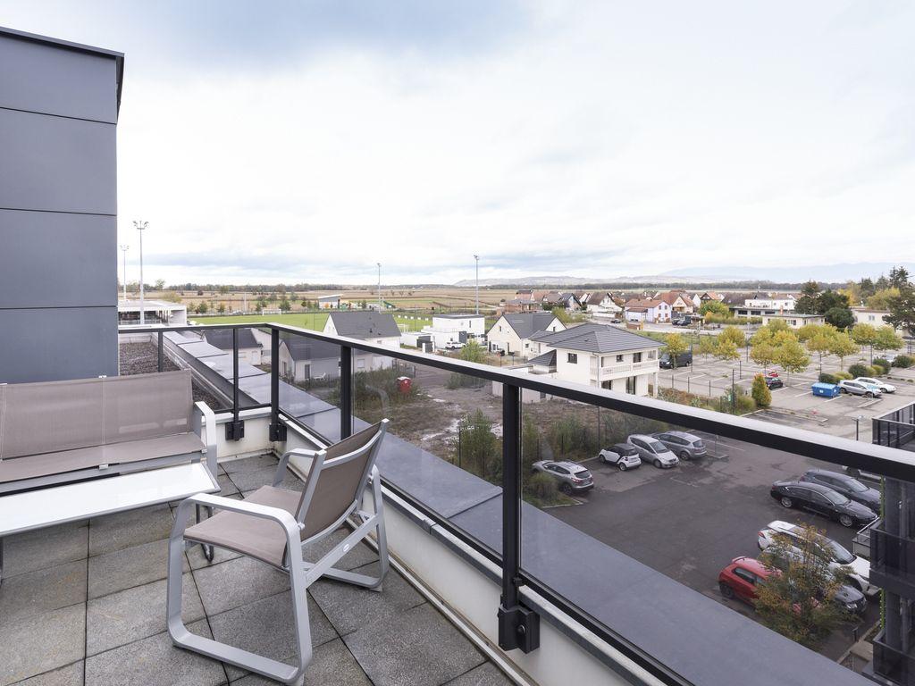 Appartement 2 chambres pour 6 personnes avec terrasse